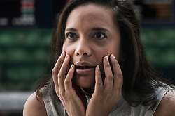 Shocked businesswoman at stock exchange (Credit Image: © Image Source/Jose Pelaez/Image Source/ZUMAPRESS.com)