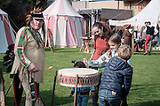 Mechelen. Kinderkankerdag in Plackendael.