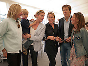 FRA WOODD; GEORGE COPCUTT; JESSICA COPCUTT; ARABELLA MACKENZIE-SMITH; HUGO MACKENZIE-SMITH; EMMA LUARD, The Dalwhinnie Crook  charity Polo match  at Longdole  Polo Club, Birdlip  hosted by the Halcyon Gallery. . 12 June 2010. -DO NOT ARCHIVE-© Copyright Photograph by Dafydd Jones. 248 Clapham Rd. London SW9 0PZ. Tel 0207 820 0771. www.dafjones.com.