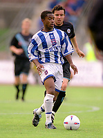 Leon Knight (Brighton). Brighton & Hove Albion v Leicester City. 4/8/2003. Pre Season friendly match. Credit : Colorsport/Andrew Cowie