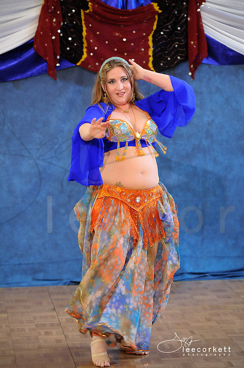 A fusion dancer performs at Tribal Fest 2013 in Sebastopol, Calfornia