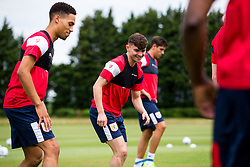 Jonny Smith in action as Bristol City return for pre-season training ahead of the 2017/18 Sky Bet Championship Season - Rogan/JMP - 30/06/2017 - Failand Training Ground - Bristol, England - Bristol City Training.