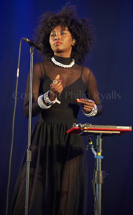 MALMESBURY, UK - JULY 30: Inna Modja performs on stage at Womad on July 30th, 2016 in Wiltshire, United Kingdom. (Photo by Philip Ryalls)**Inna Modja