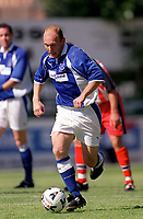 Thomas Gravesen (Everton) Exeter City v Everton, Pre-Season Friendly, 5/08/2000. Credit: Colorsport / Matthew Impey