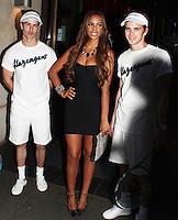 LONDON - JUNE 28: Rochelle Wiseman attends The Slazenger Party, Aqua, London, UK. June 28, 2012 (Photo by Brett Cove/piQtured)