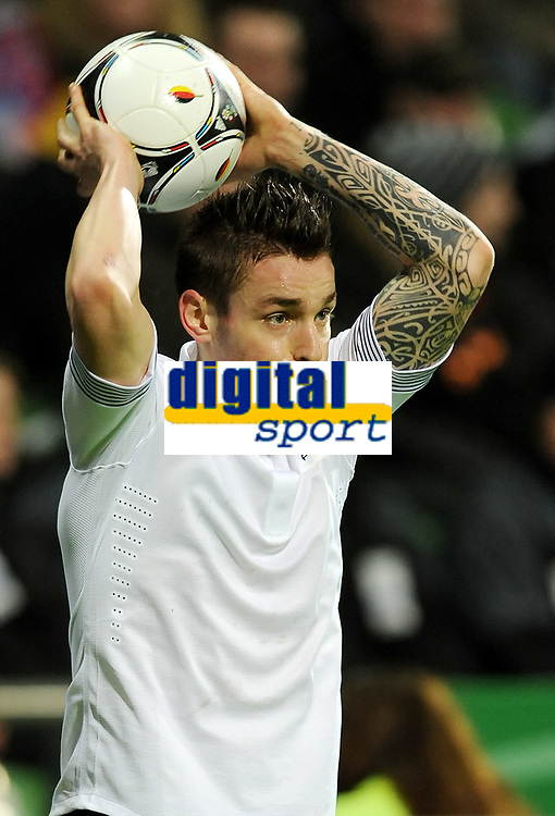 FOOTBALL - FRIENDLY GAME 2011/2012 - GERMANY v FRANCE  - 29/02/2012 - PHOTO DPPI - MATHIEU DEBUCHY (FRA)