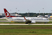 Turkish Airlines Boeing 737 Next Gen at Milan - Malpensa (MXP / LIMC) Italy