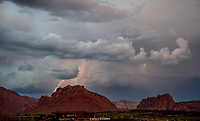 IVINS- SNOW CANYON STATE PARK- RED MTN- RED CLIFFS DESERT RESERVE LIGHTNING