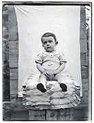 toddler posing late 1930s