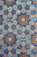 Ouzbekistan, Samrakand, classe patrimoine mondial de l Unesco, necropole Chah I Zinde, detail // Uzbekistan, Samarkand, Unesco World Heriatge, Chah I Zinde necropolis, detail