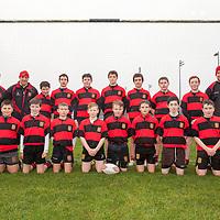 Ennis U16 Rugby Team photograph