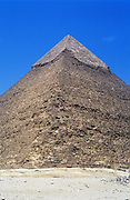 Ancient Egypt: Great Pyramid of Cheops, Giza,  one of the seven wonders of the ancient world.