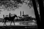 MALAYSIA : Kuala Lumpur in black and white