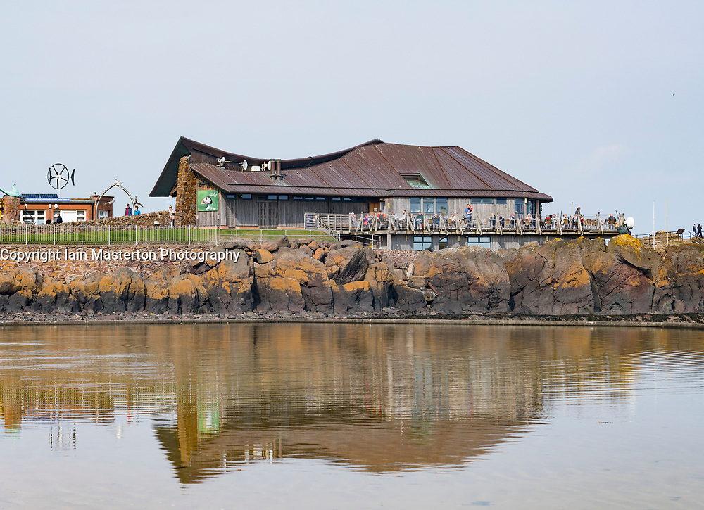 View of the Scottish Seabird Centre, in North Berwick, Scotland, United Kingdom