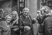 HELEN MINSKY; DAVE BENNET, Richard Compton Miller birthday, The Apartment @ The Hoxton, Great Eastern Street,  London. 21 March 2015.