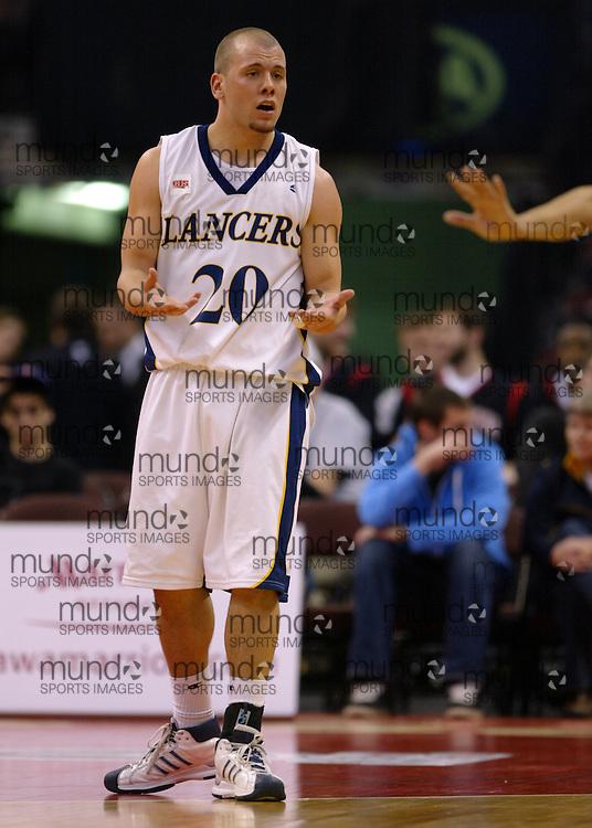 CIS Basketball Champioships-Ottawa, March 19, 2010, Windsor Lancers-Enrico Diloreto