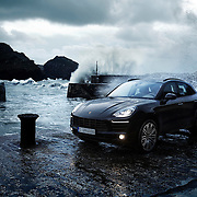 Porsche Macan on the harbour wall taking shelter from the raging seas Ray Massey is an established, award winning, UK professional  photographer, shooting creative advertising and editorial images from his stunning studio in a converted church in Camden Town, London NW1. Ray Massey specialises in drinks and liquids, still life and hands, product, gymnastics, special effects (sfx) and location photography. He is particularly known for dynamic high speed action shots of pours, bubbles, splashes and explosions in beers, champagnes, sodas, cocktails and beverages of all descriptions, as well as perfumes, paint, ink, water – even ice! Ray Massey works throughout the world with advertising agencies, designers, design groups, PR companies and directly with clients. He regularly manages the entire creative process, including post-production composition, manipulation and retouching, working with his team of retouchers to produce final images ready for publication.
