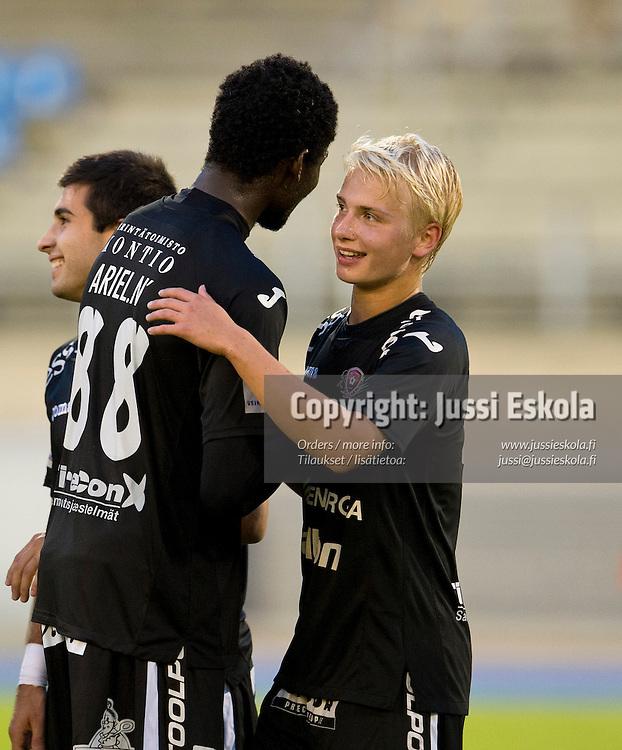 Matti Klinga. FC Lahti - Honka. Veikkausliiga. Lahti 31.8.2012. Photo: Jussi Eskola