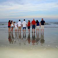 Cara Rowe Family at Pawleys Point
