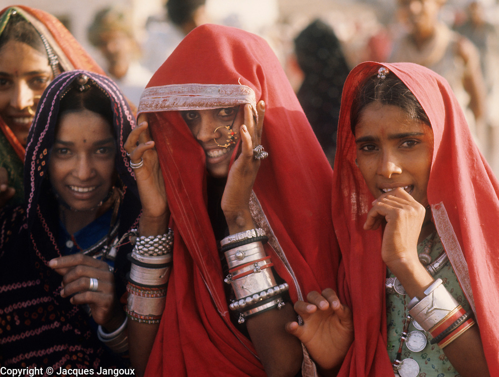 Young women  in Rajasthan, India, 1967