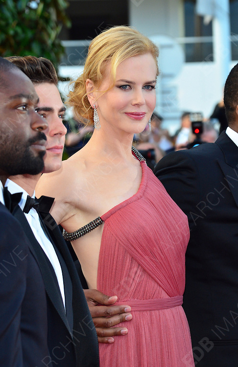 24.MAY.2012. CANNES<br /> <br /> NICOLE KIDMAN ATTENDS THE PREMIERE OF THE PAPERBOY AT THE PALAIS DE FESTIVAL IN CANNES DURING THE 65TH CANNES FILM FESTIVAL<br /> <br /> BYLINE: JO ALVAREZ/EDBIMAGEARCHIVE.COM<br /> <br /> *THIS IMAGE IS STRICTLY FOR UK NEWSPAPERS AND MAGAZINES ONLY*<br /> *FOR WORLD WIDE SALES AND WEB USE PLEASE CONTACT EDBIMAGEARCHIVE - 0208 954 5968*