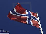 Norwegian flag, Sweden