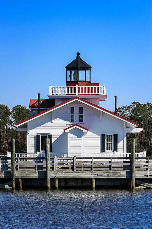 Roanoke Marshes Lighhouse, Manteo, North Carolina, USA