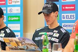 Peter Prevc during press conference of Slovenian Nordic Ski Jumping team, on June 23, 2020 in Hotel Livada, Moravske Toplice, Slovenia. Photo by Ales Cipot / Sportida