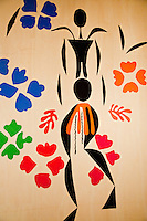 "National Gallery, Washington DC. Cutout by Henri Matisse. ""The Negress"""