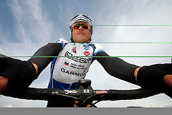 Rider Jure Robic, on May 17, 2007, in Logatec, Slovenia. (Photo by Vid Ponikvar / Sportal Images)..