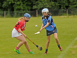 Ellie Hyland in action for Westport U14 Camoige team.<br />