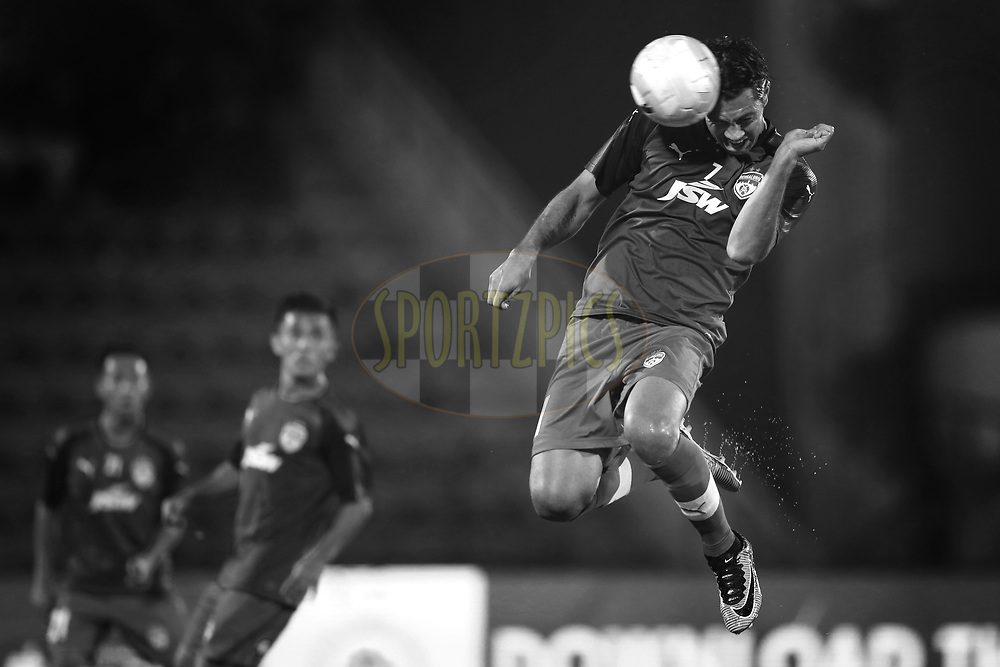 Nicolas Ladislao Fedor of Bengaluru FC during practice session before match 19 of the Hero Indian Super League between NorthEast United FC and Bengaluru FC held at the Indira Gandhi Athletic Stadium, Guwahati India on the 8th December 2017<br /> <br /> Photo by: Deepak Malik  / ISL / SPORTZPICS
