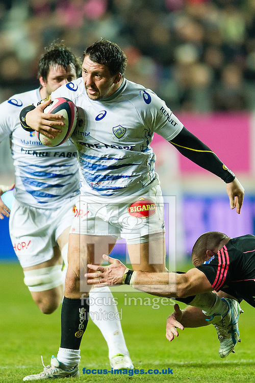Picture by Andrew McLean Brown/Focus Images Ltd + 33 670 67 8592<br /> 24/01/2014<br /> Brice Mach of Castres Olympique during the Top 14 match against Stade Francais at Stade Jean Bouin, Paris.