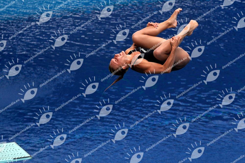 Olena Fedorova Ukraine <br /> Diving Women's 3m Springboard - Tuffi Trampolino 3m Donne  <br /> Barcellona 26/7/2013 Piscina Municipal <br /> Barcelona 2013 15 Fina World Championships Aquatics <br /> Foto Andrea Staccioli Insidefoto