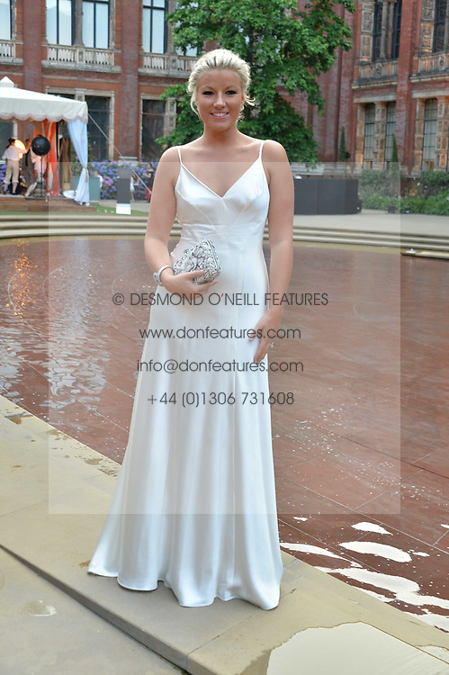 Natalie Rushdie at the V&A Summer Party 2017 held at the Victoria & Albert Museum, London England. 21 June 2017.<br /> Photo by Dominic O'Neill/SilverHub 0203 174 1069 sales@silverhubmedia.com
