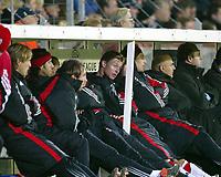 Fotball, 4. november 2003, Champions League,, Club Brugge ( Brügge )-Milan,  Jon Dahl Tomassen, Milan, ble byttet ut før pause