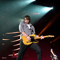 McFly play live at the SECC..Danny Jones