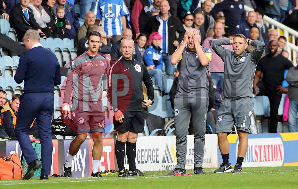 Wigan Athletic manager Paul Cook cuts a dejected figure on the touchline - Mandatory by-line: Joe Dent/JMP - 23/09/2017 - FOOTBALL - ABAX Stadium - Peterborough, England - Peterborough United v Wigan Athletic - Sky Bet League One