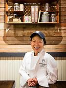 Astoria, NY - 8 December 2016. Chef Bo O'Connor of The Pomeroy.