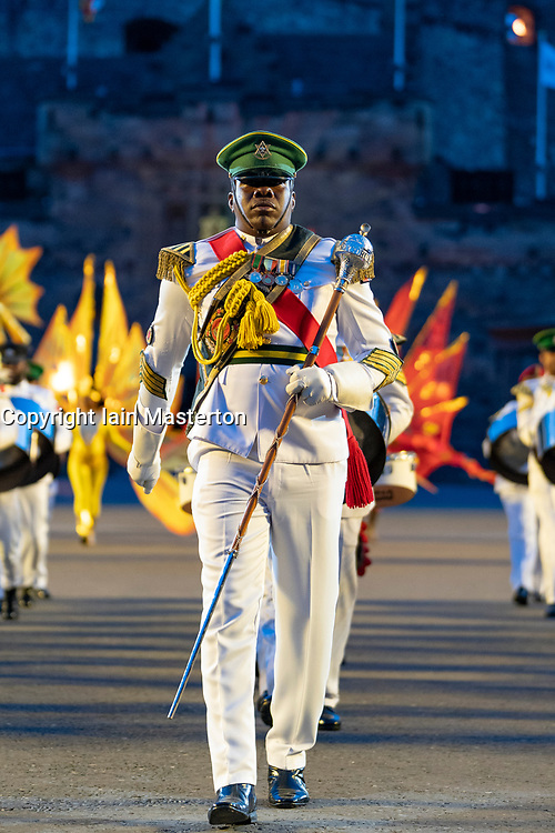 Edinburgh, Scotland, UK. 5 August, 2019.  The Royal Edinburgh Military Tattoo forms part of the Edinburgh International festival. Pictured;  The Trinidad and Tobago Defence force Steel Orchestra