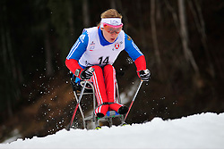 KONOVALOVA Svetlana, RUS at the 2014 IPC Nordic Skiing World Cup Finals - Long Distance