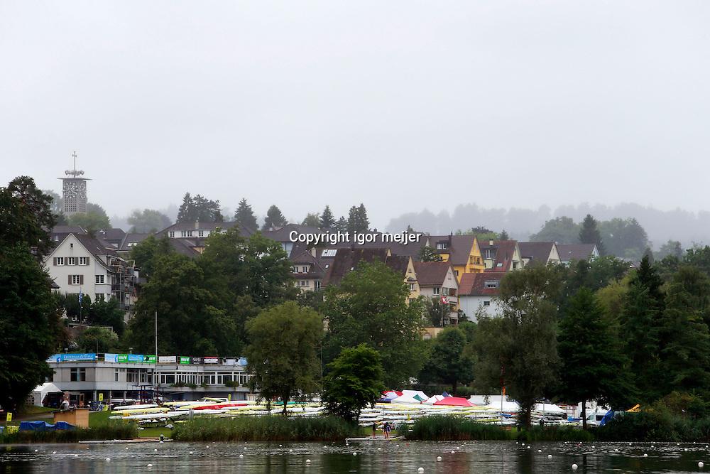 Training Session, Wprld Cup of Rowing III, Luzern, Switzerland. 10 July 2014. Photo: IGOR MEIJER/www.photosport.co.nz