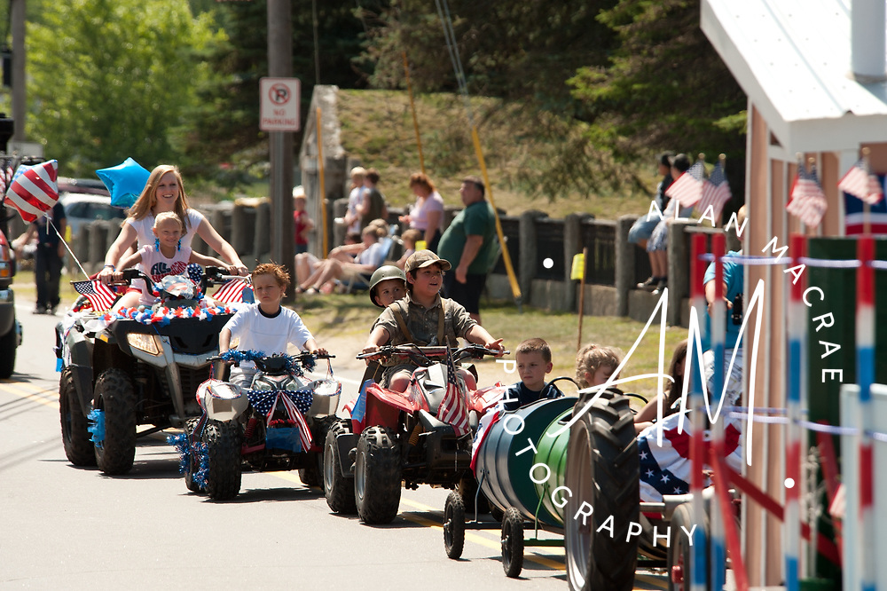 Sights from Ashland's 4th of July Parade.  (Alan MacRae/for the Laconia Daily Sun)