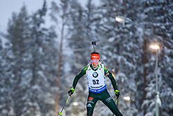 March 8, 2019 - –Stersund, Sweden - 190308 Laura Dahlmeier of Germany competes in the Women's 7.5 KM sprint during the IBU World Championships Biathlon on March 8, 2019 in Östersund..Photo: Petter Arvidson / BILDBYRÃ…N / kod PA / 92247 (Credit Image: © Petter Arvidson/Bildbyran via ZUMA Press)