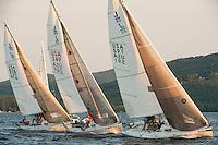 Winnipesaukee Yacht Club J80 race August 30, 2012.