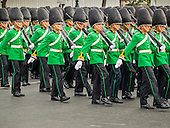 Trooping of the Colors to Honor the King
