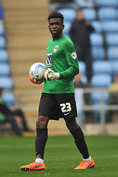Reice Charles Cook, Goalkeeper Coventry City, Reice Charles Cook, Goalkeeper Coventry City, Coventry City v Shreswsbury Town FC  Ricoh Arena, Football Sky Bet League One, Saturday 3rd October 2015