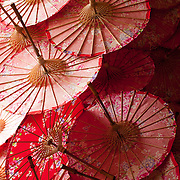 Traditional paper umbrellas, Meinong Township, Kaohsiung County, Taiwan