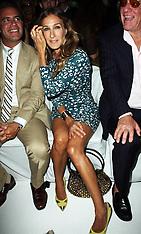Sarah Jessica Parker at New York Fashion Week 9-9-12