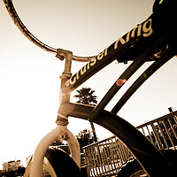 The place to cruise on a bike, Santa Cruz, USA.